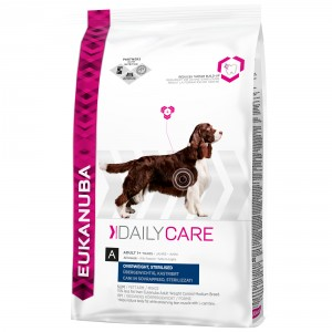 Eukanuba Daily Care Overweight, Sterilised hundefoder