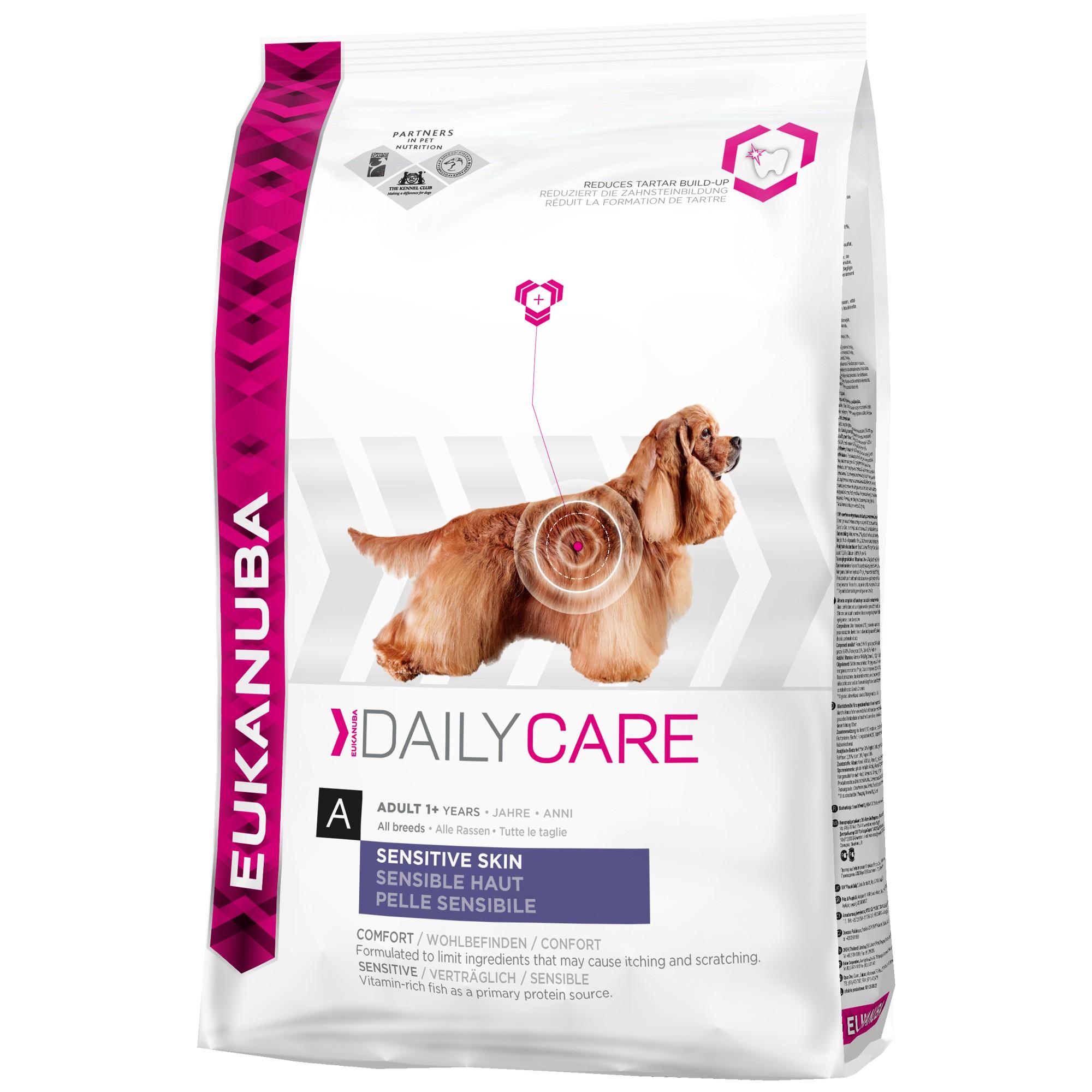 Eukanuba Daily CareSensitive Skin hundefoder