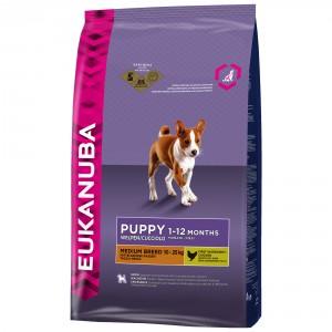 Eukanuba Puppy & JuniorMedium hundefoder