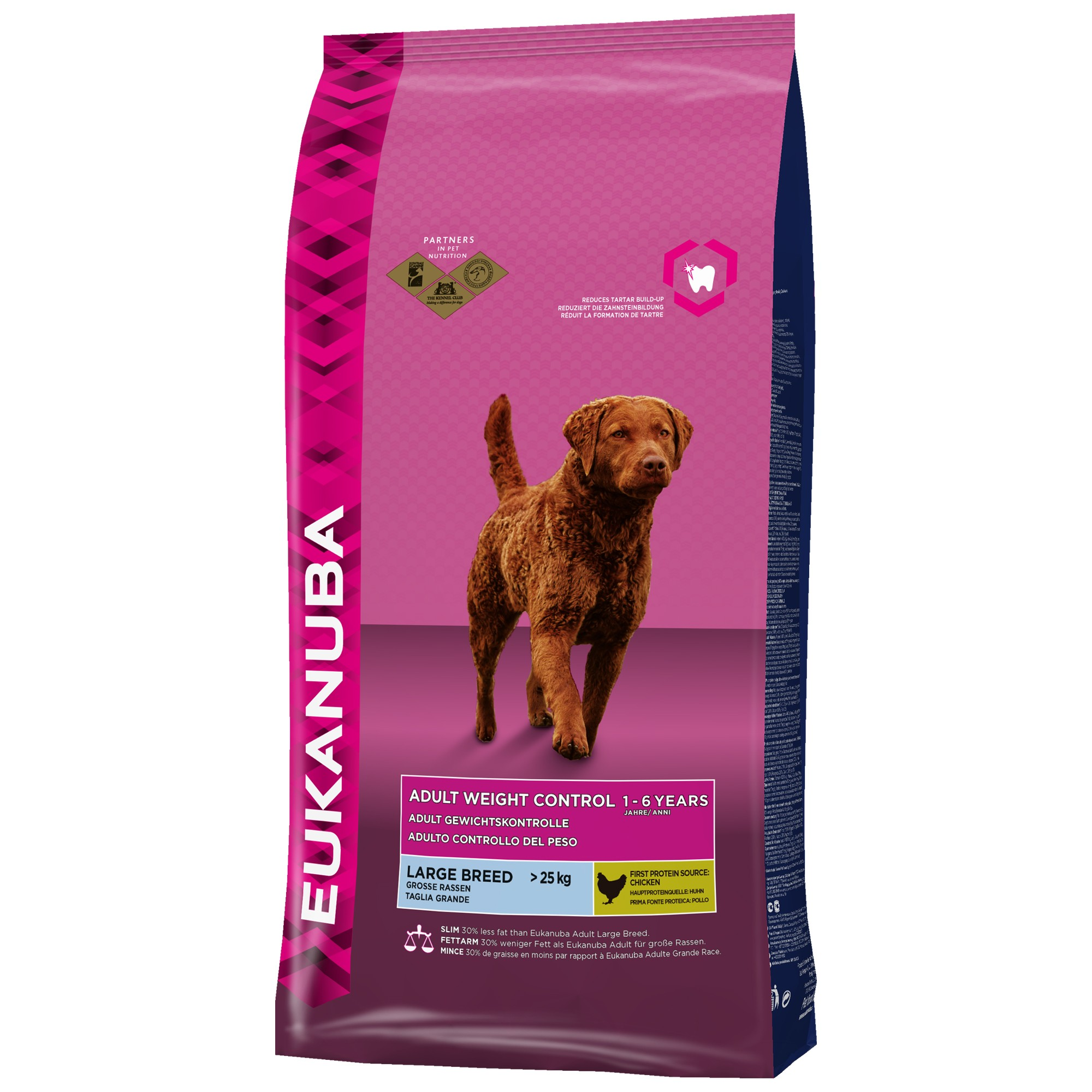Eukanuba Adult Weight Control Large Breed hundefoder