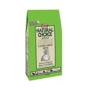 Nutro Choice Adult Mini Lam & Ris hundefoder