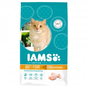 Iams Adult Weight Control (Light) kylling kattefoder