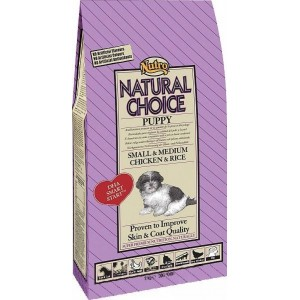 Nutro Choice Puppy Small & Medium Kylling & Ris hundefoder