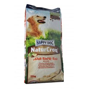 Happy Dog NaturCroq Okse & Ris hundefoder