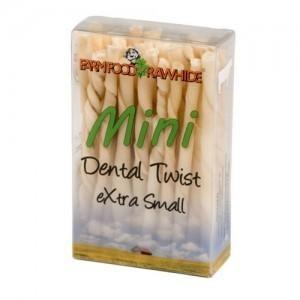 Farm Food Rawhide Dental Tyggestænger Twist XS