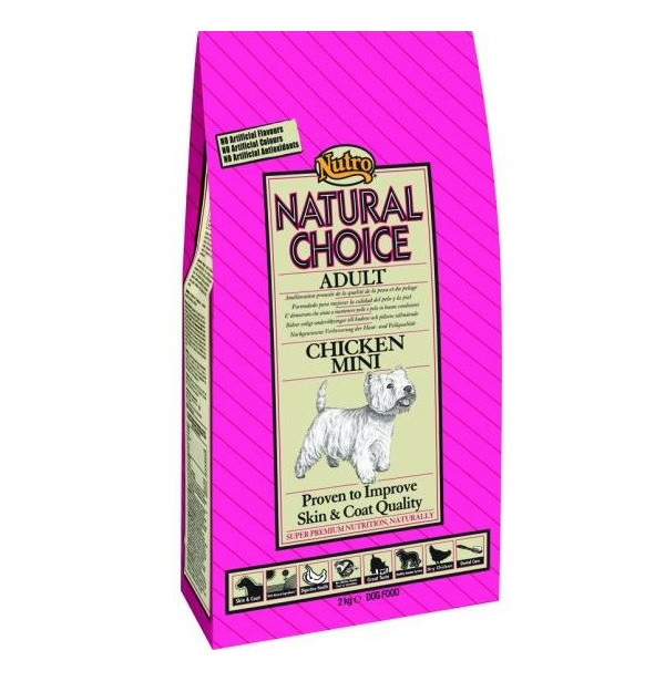 Nutro Choice Adult Mini Maintenance Kylling hundefoder