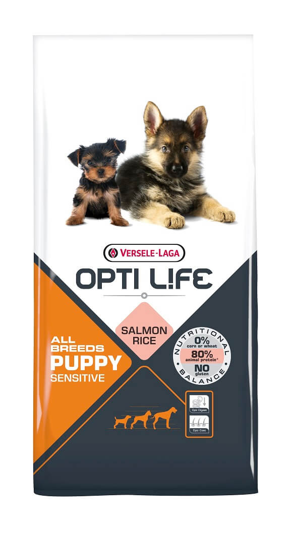 Opti Life Puppy Sensitive hundefoder
