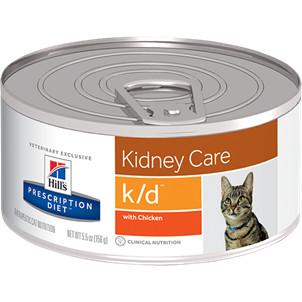 Hill's Prescription Diet K/D kattefoder med kylling i dåse