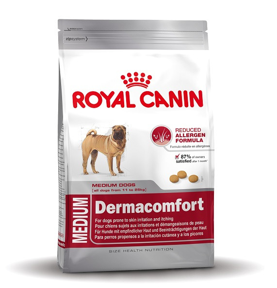 Royal Canin Medium Dermacomfort hundefoder