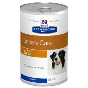 Hill's Prescription S/D Urinary Care hundefoder 370g dåse