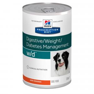 Hill's Prescription W/D Digestive/ Weight/Diabetes dåse hundefoder
