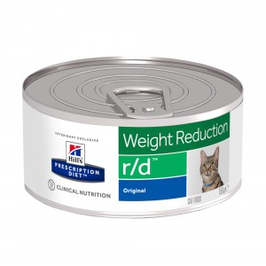 Hill's Prescription R/D Weight Reduction vådfoder til katte 156g