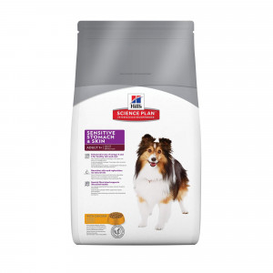 Hill's Adult Sensitive Stomach & Skin Kylling hundefoder