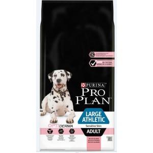 Pro Plan Optiderma Large Athletic Adult Sensitive Skin hundefoder