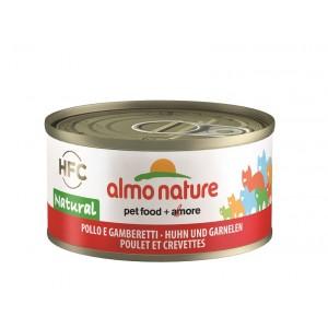 Almo Nature kylling og rejer 70 gr