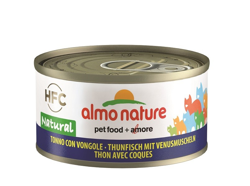 Almo Nature tun med muslinger