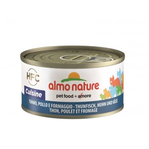 Almo Nature med tun, kylling og ost