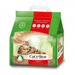 Cats Best Øko Plus Kattegrus 10 liter (4,3 kg)
