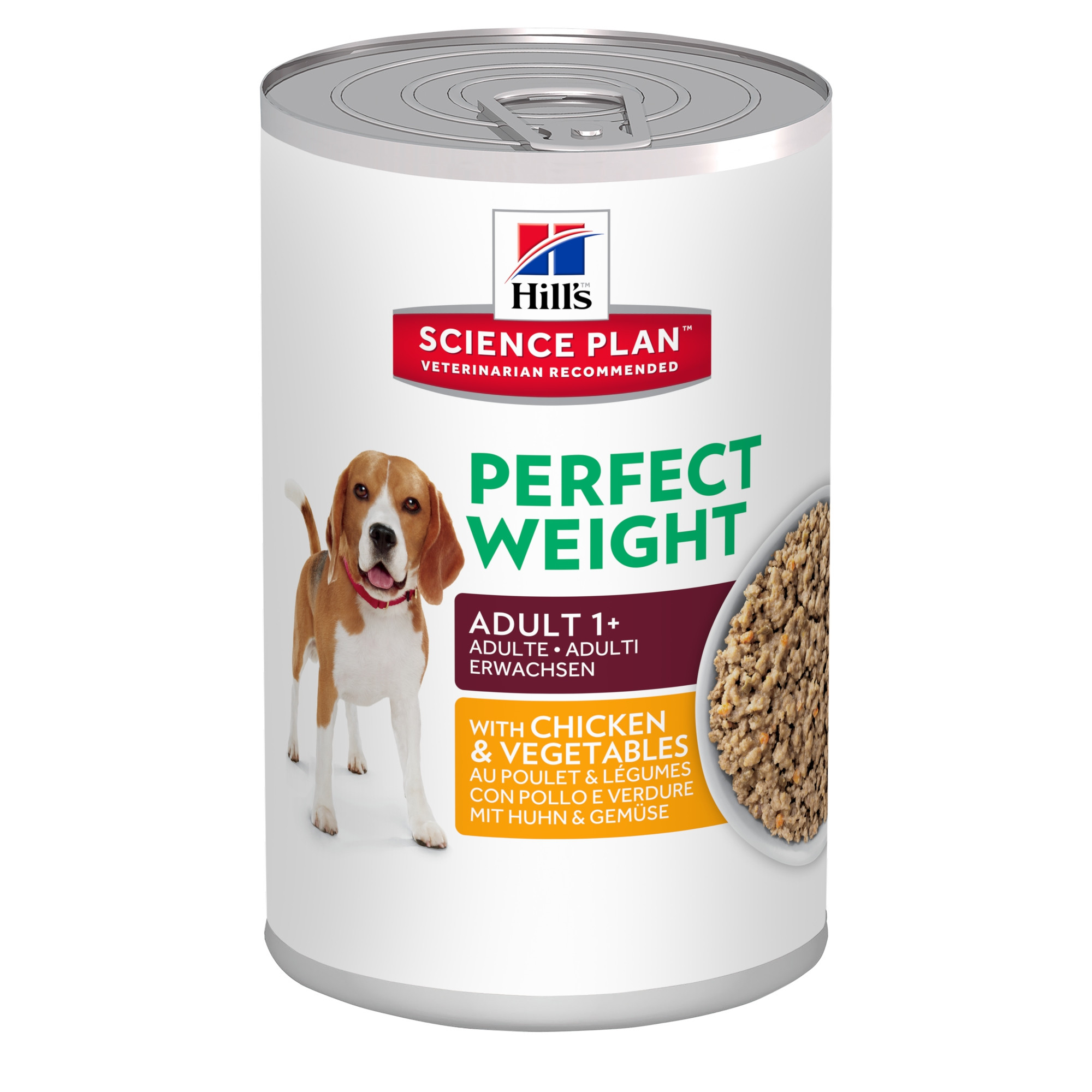 Hill's Adult Perfect Weight (i dåse) hundefoder