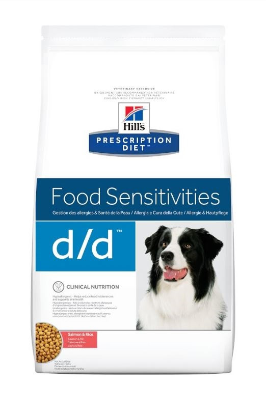 Hill's Prescription D/D Food Sensitivities laks & ris hundefoder