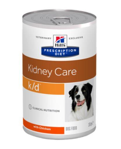 Hill's Prescription Diet K/D Kidney Care hundefoder i dåse