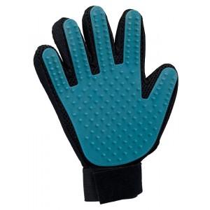 Vachtverzorgings handschoen voor de hond