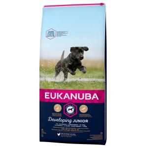 Eukanuba Developing Junior Large Breed kip hondenvoer