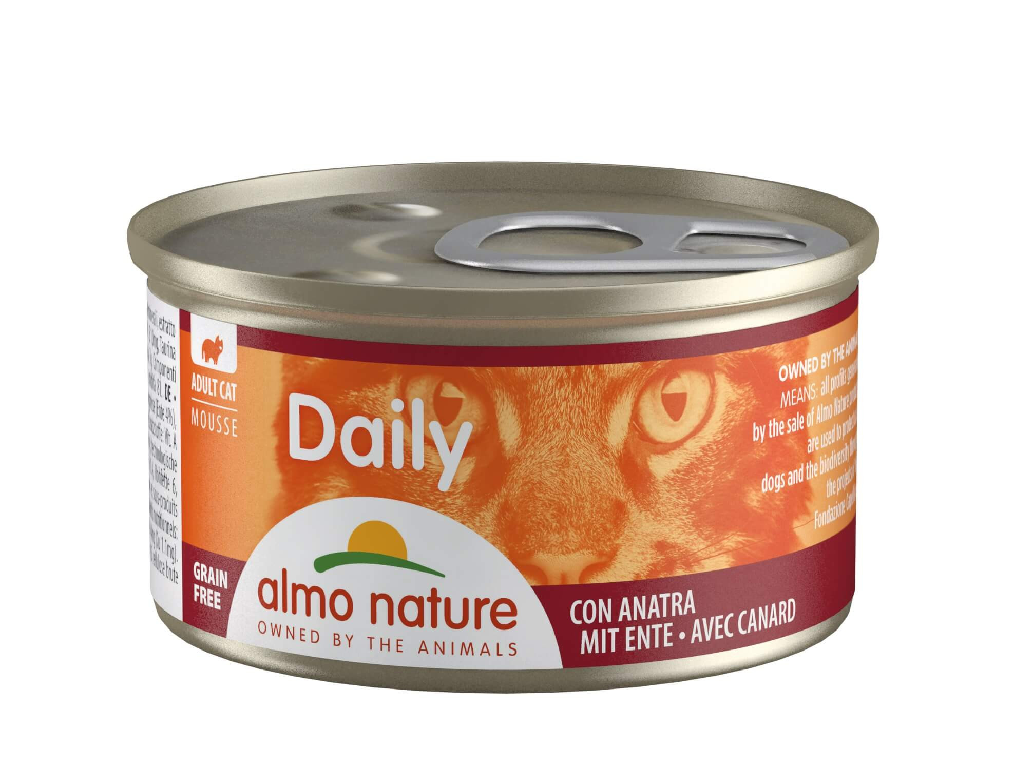 Almo Nature Daily Mousse med And 85 gr