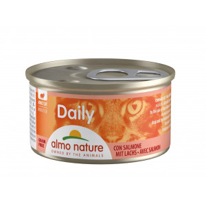 Almo Nature Daily Mousse med Laks 85 gr