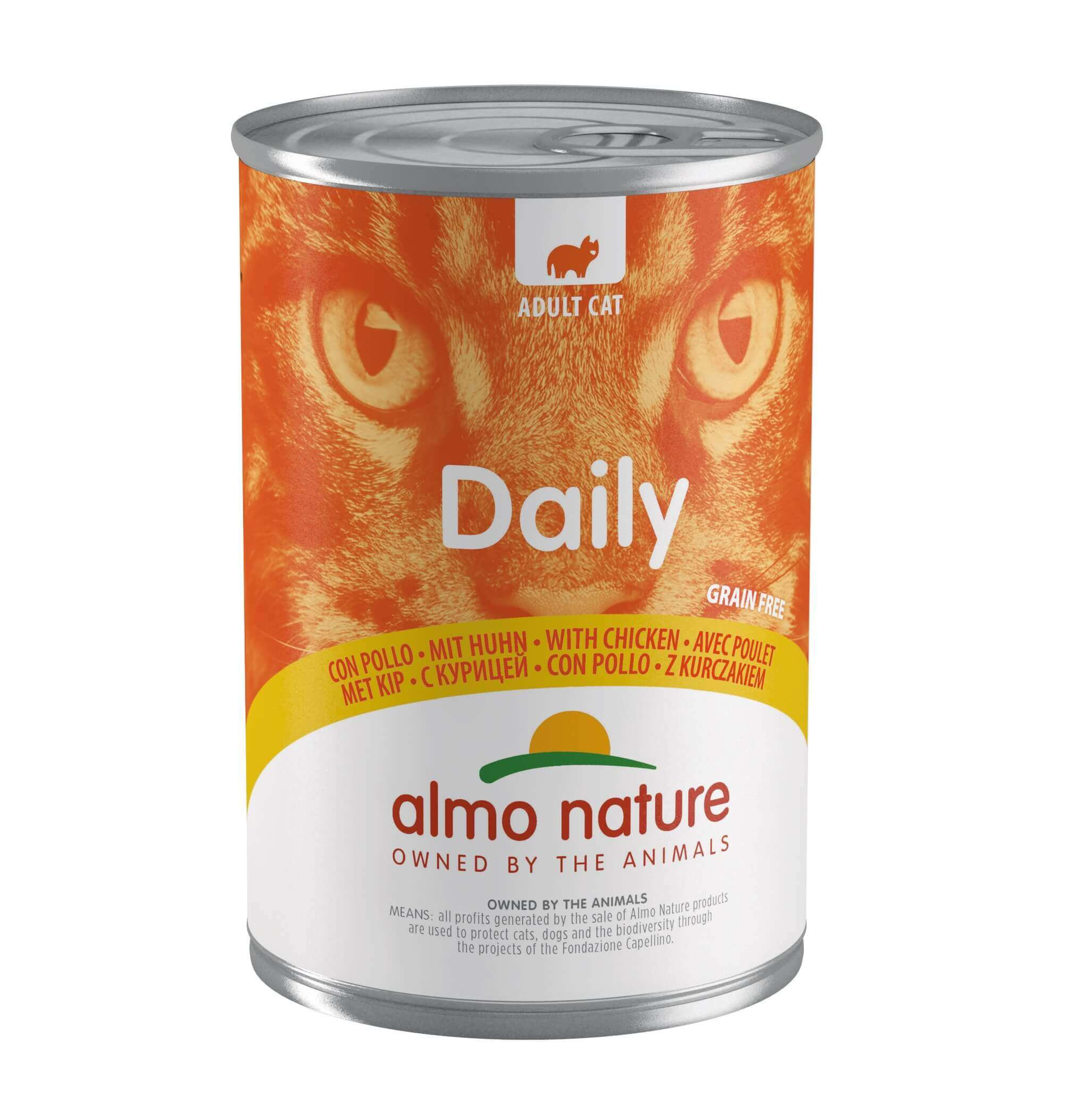 Almo Nature Daily Kylling 400 gram