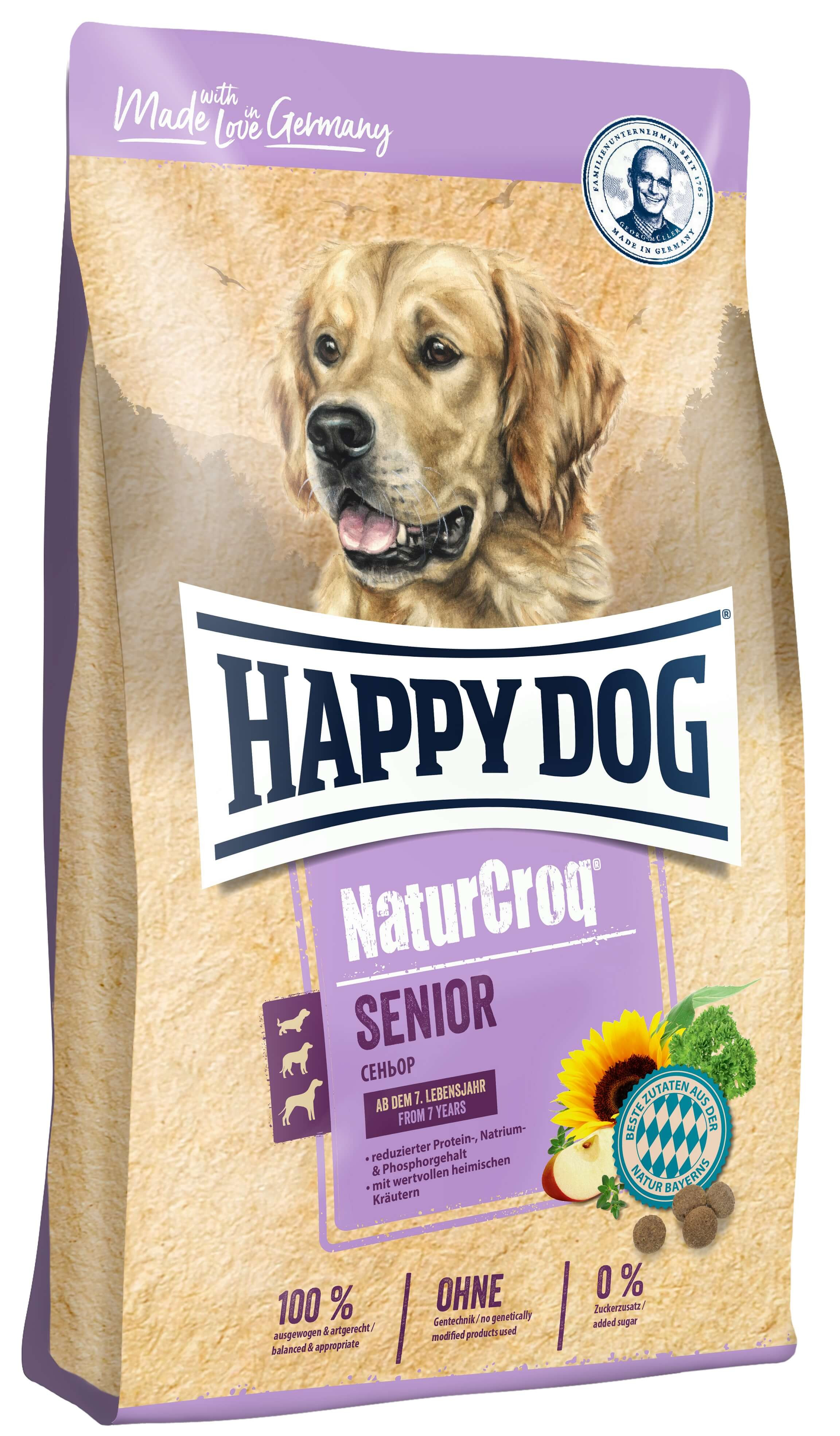 Happy Dog NaturCroq Senior hondenvoer