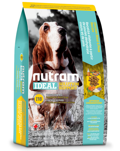 Nutram Ideal Solution Support Weight Control I18 hundefoder