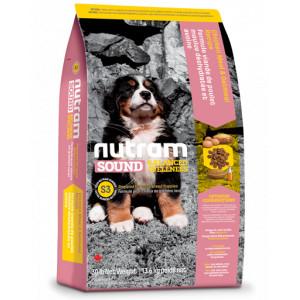 Nutram Balanced Wellness Large Breed Puppy S3 hundefoder