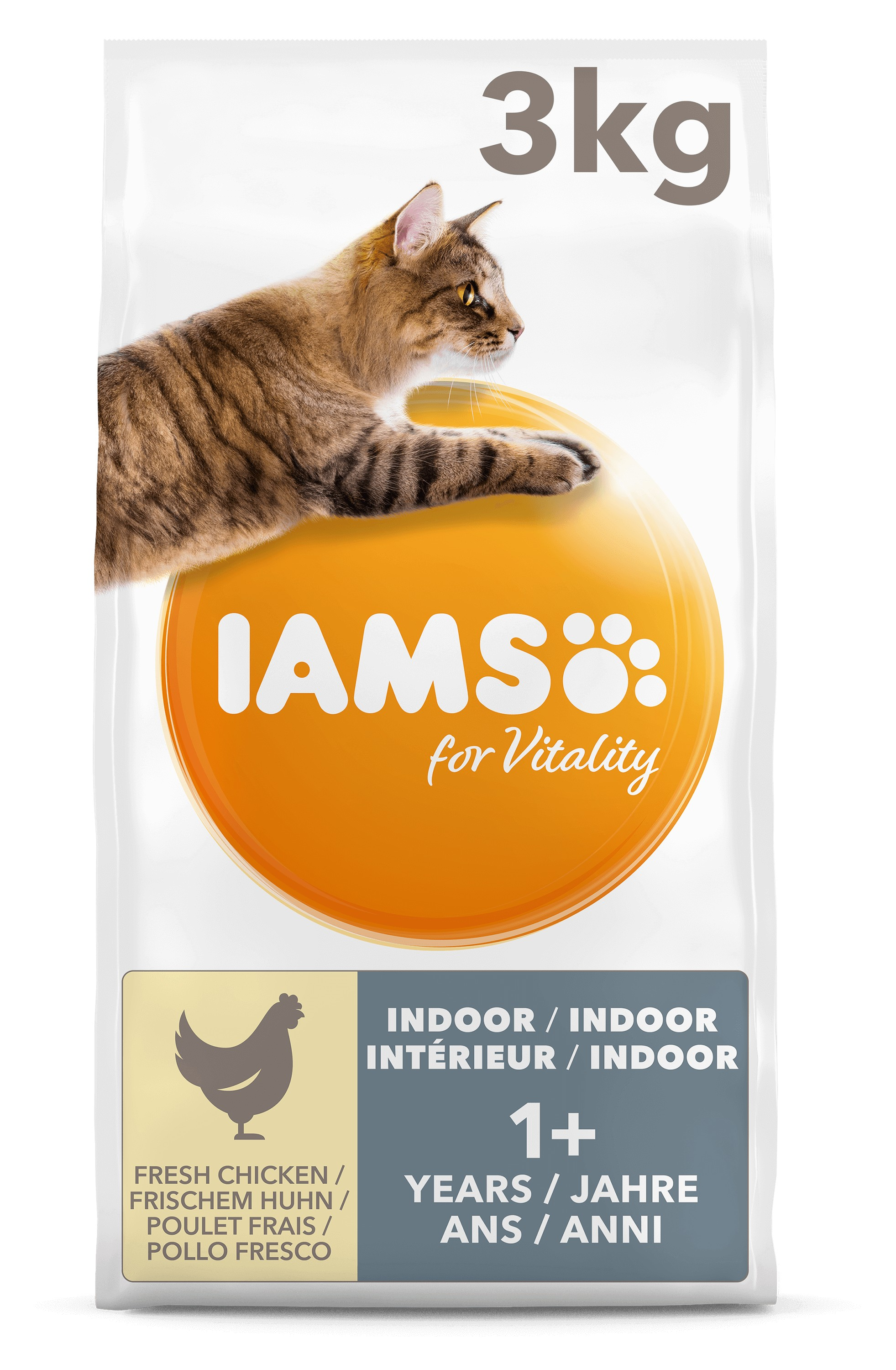 Iams For Vitality Adult Indoor Kattenvoer