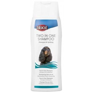 2-in-1 Shampoo 250ml voor de hond