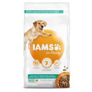 Iams for Vitality Adult Light in Fat hondenvoer