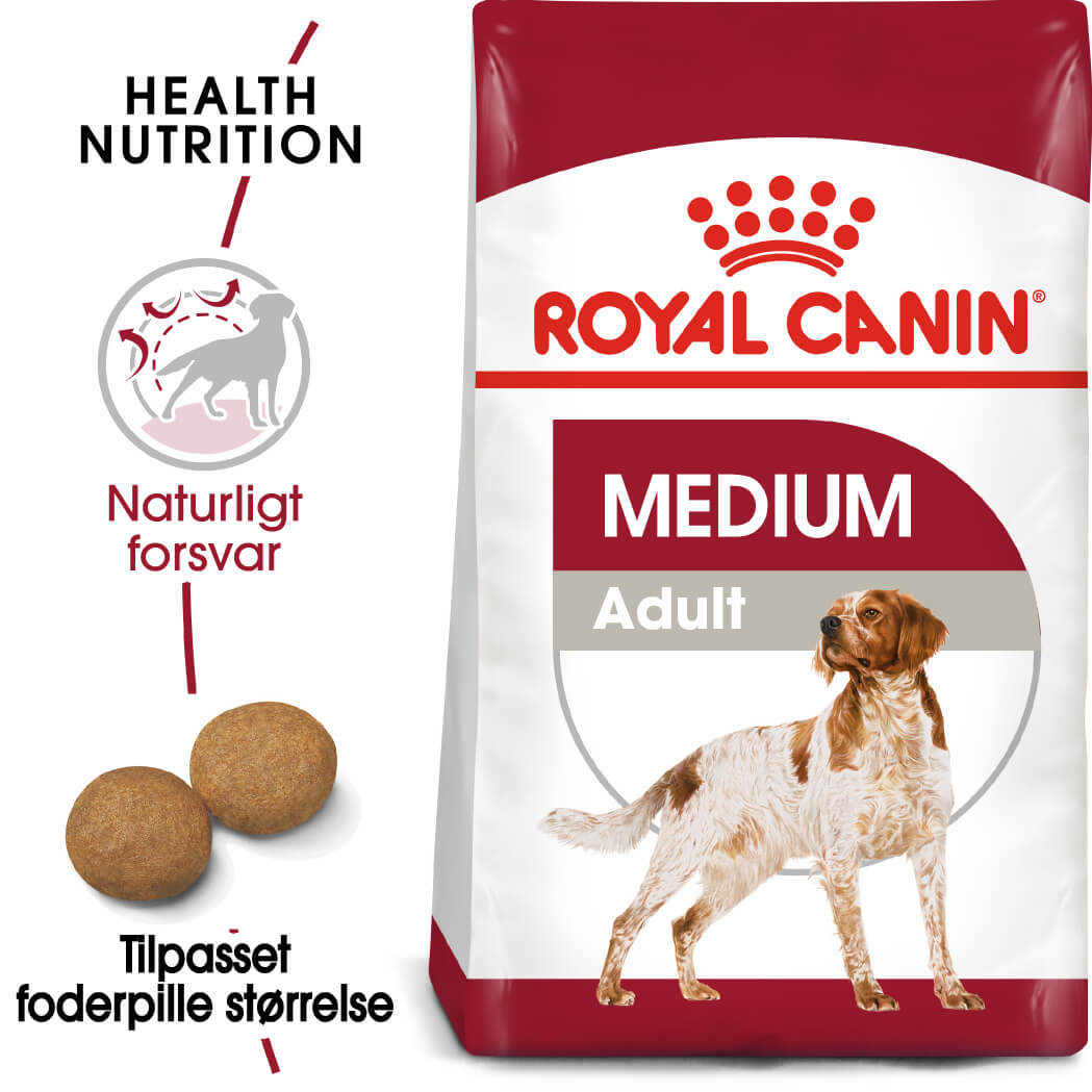 Royal Canin Medium Adult hundefoder