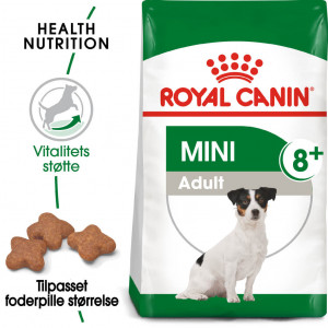 Royal Canin Mini Adult 8+ hundefoder
