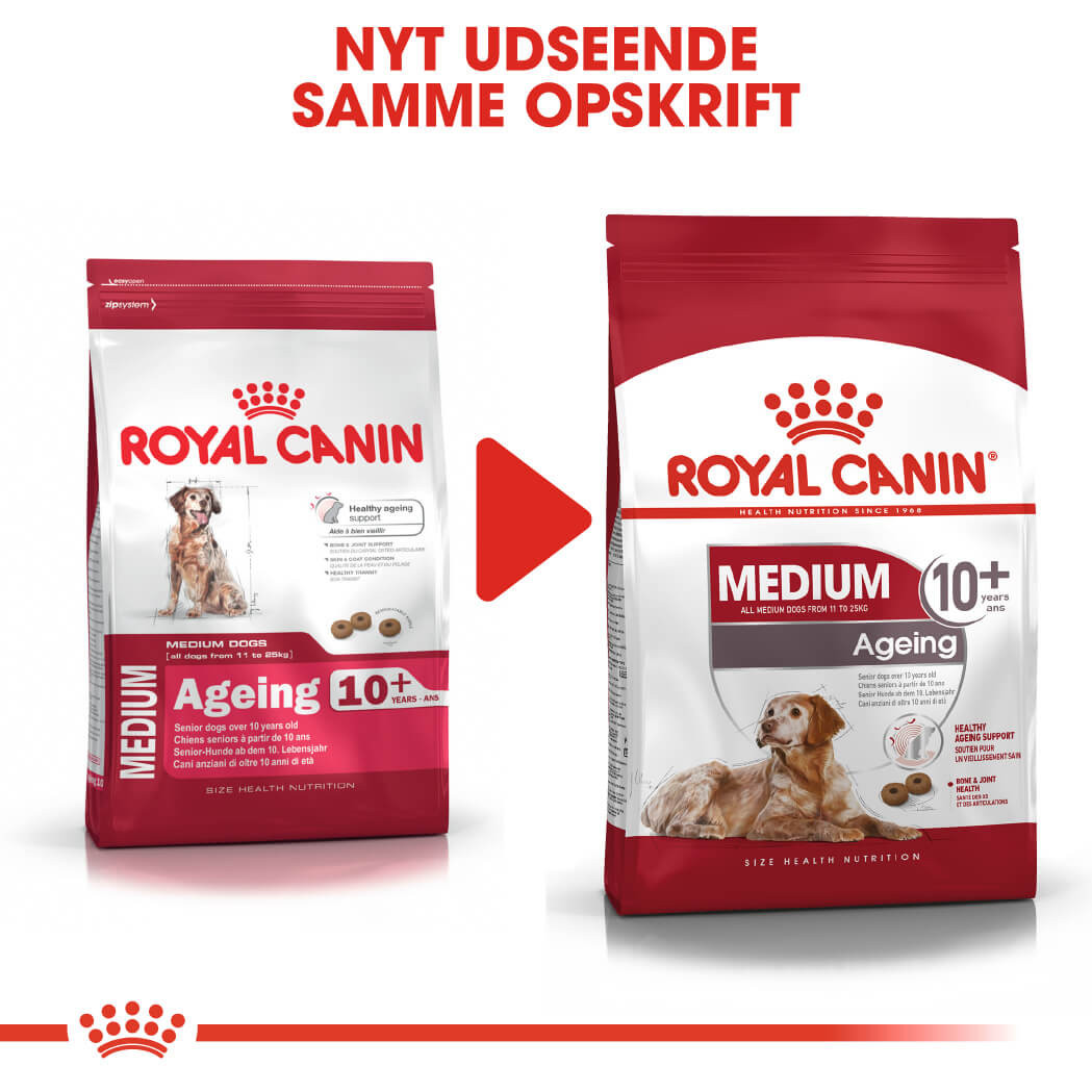 Royal Canin Medium Ageing 10+ hundefoder