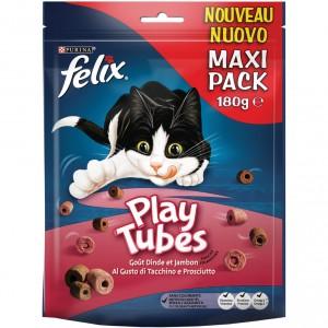 Felix Play Tubes Kalkoen & Ham 180 gr kattensnoep