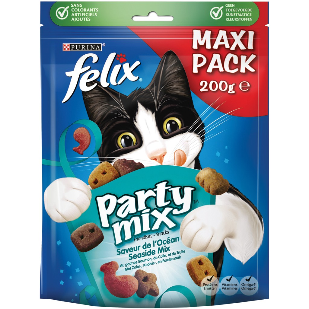 Felix Party Mix Seaside 200 gr kattensnoep
