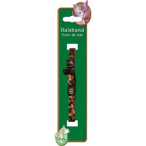 Kattenhalsband met dierenprint