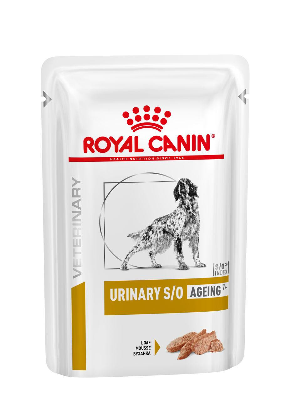 Royal Canin Urinary S/O Ageing 7+ Pouch 100 gr hondenvoer