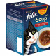 Felix Soup Farm Selection Suppe til katten 6 x 48 g