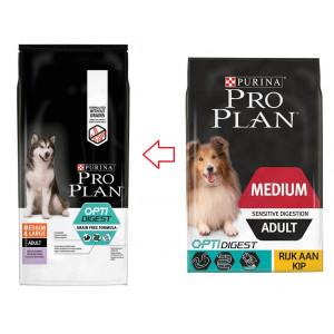 PRO PLANAdult Medium Digestion hundefoder
