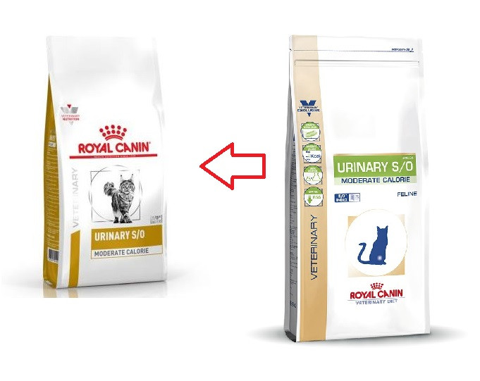 Royal Canin Veterinary Urinary S/O Moderate Calorie kattefoder