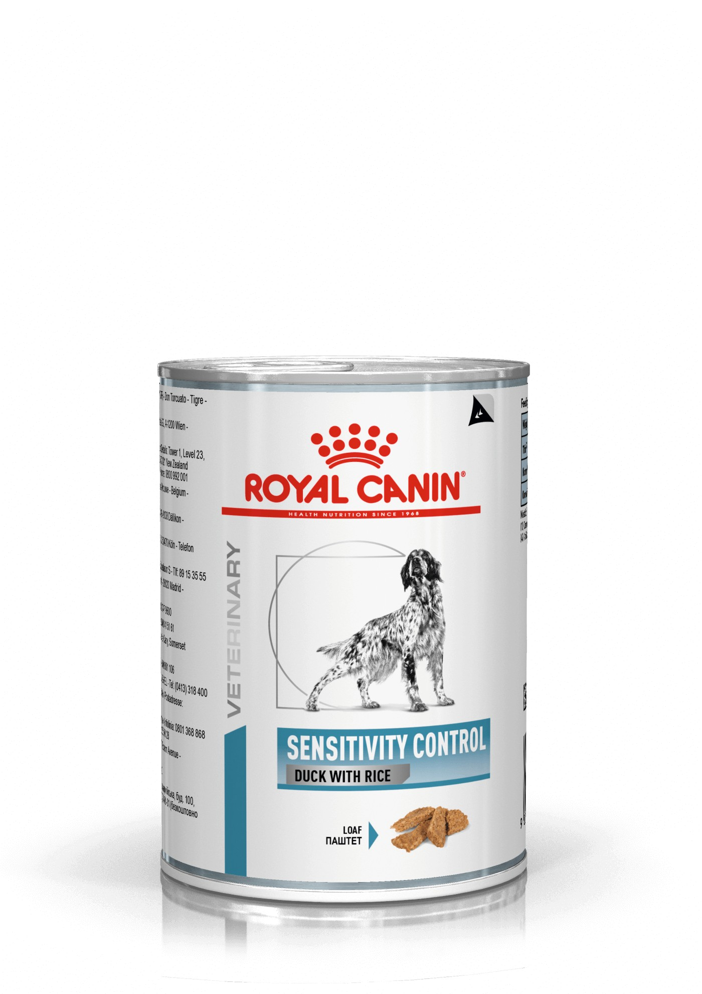 Royal Canin Veterinary Sensitivity Control and & ris hundefoder dåse