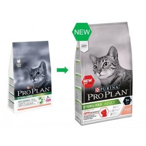 Pro Plan Sterilised Adult Zalm Optisenses kattenvoer