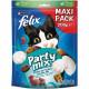 Felix Party Mix Original + Seaside kattensnoep (2x200g)
