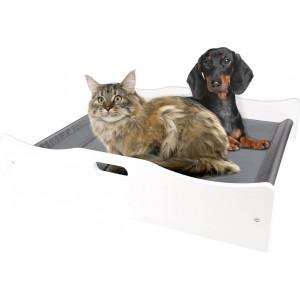 Katten- en Hondenmeubel Nova Ligbed Wit